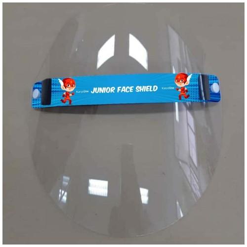 Face Shield KaryaOne Junior Series. Pelindung Wajah Kualitas Premium Aman untuk Anak - FLASH