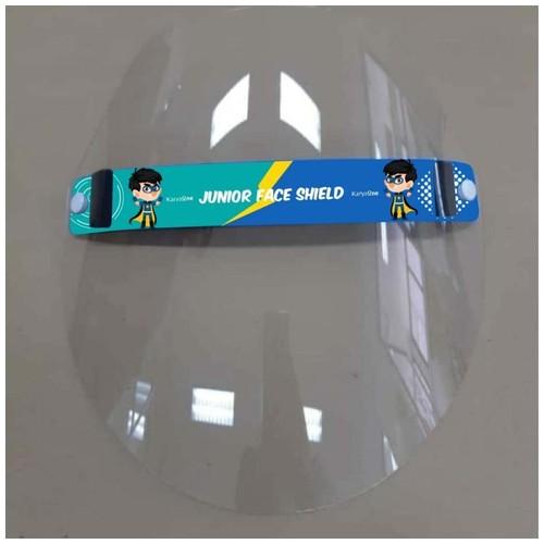 Face Shield KaryaOne Junior Series. Pelindung Wajah Kualitas Premium Aman untuk Anak - MALE HERO