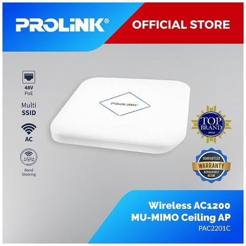 Prolink Wireless AC1200 MU-MIMO Ceiling AP PAC2201C