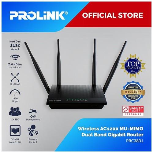 Prolink PRC3801 Wireless AC1200