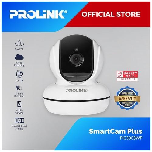 PROLiNK PIC3003WP Full HD 1080P Smart Wi-Fi Pan / Tilt IP Camera