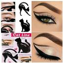 Cat Eyeliner Stencil Cetaka