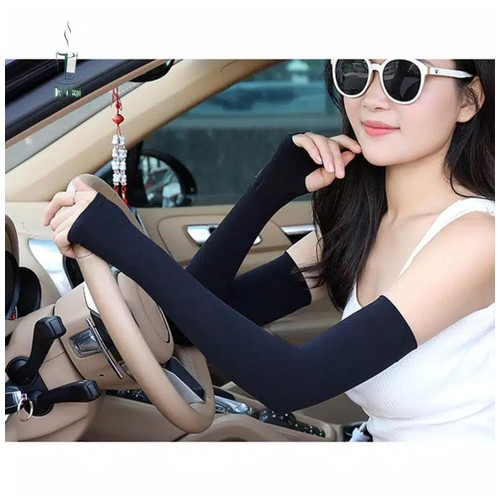 Manset Unisex Sarung Tangan Anti UV Cool Arm Sleeve