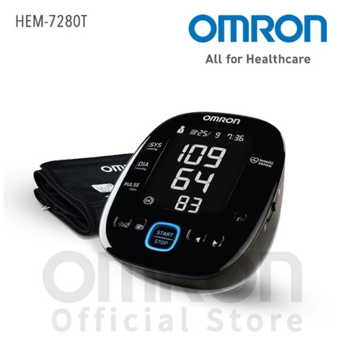 OMRON AUTOMATIC BLOOD PRESSURE MONITOR HEM-7280T WITH Bluetooth
