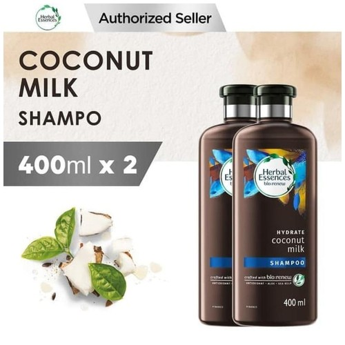 Herbal Essences Bio Hydrate Coconut Milk Shampoo 400 ml x2