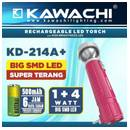 Senter LED Cas Kawachi KD 2