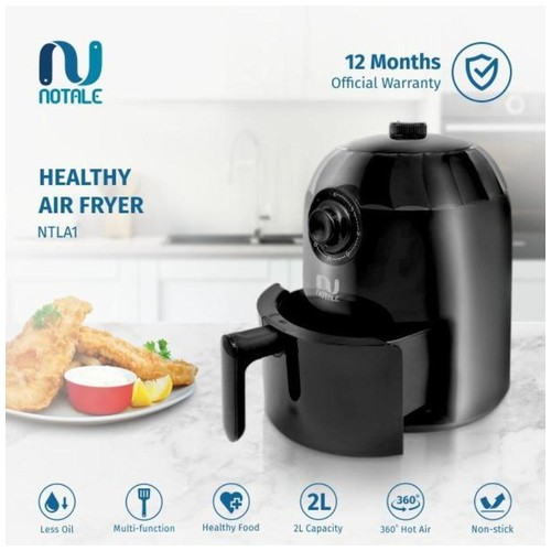 Notale Air Fryer Penggoreng Tanpa Minyak 2L
