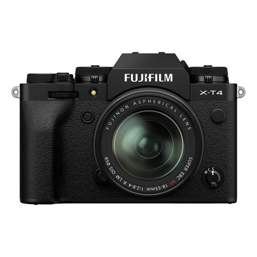 FUJIFILM X-T4 Mirrorless Digital Camera KIT with 18-55MM Lens - Black