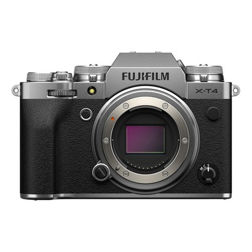 FUJIFILM X-T4 Mirrorless Digital Camera Body Only - Silver