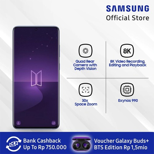 Samsung Galaxy S20+ BTS Edition - Purple
