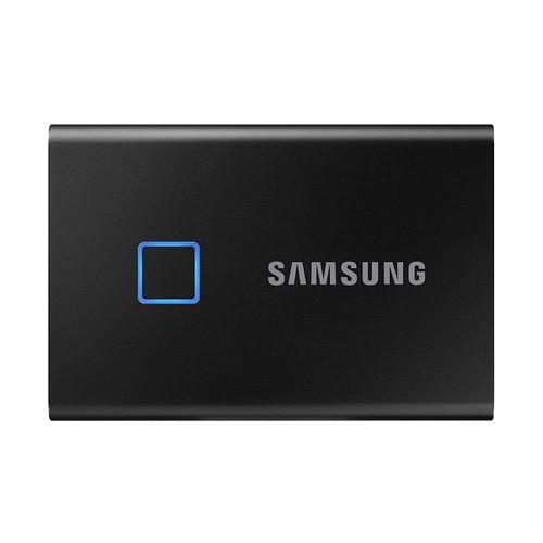 Samsung T7 Touch Portable SSD 500GB USB 3.2 - Black (MU-PC500K/WW)