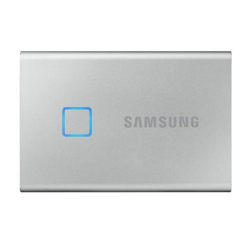 Samsung T7 Touch Portable SSD 2TB USB 3.2 - Silver (MU-PC2T0S/WW)