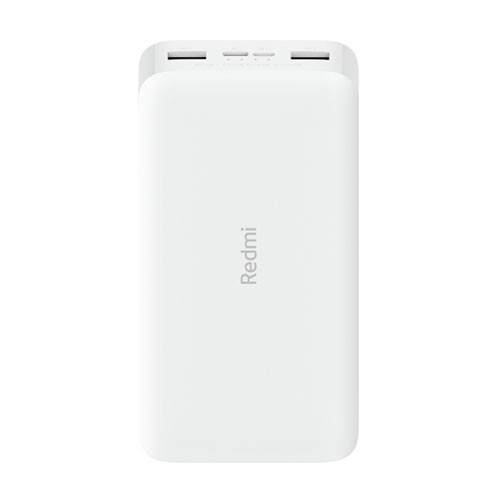 Xiaomi Redmi Power Bank 20000 mAh 18W Fast Charging - White