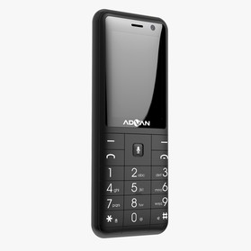 Advan 2406 Kaios - Black