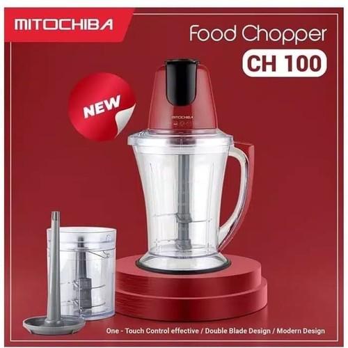 Mitochiba Food Chopper CH100 - Red
