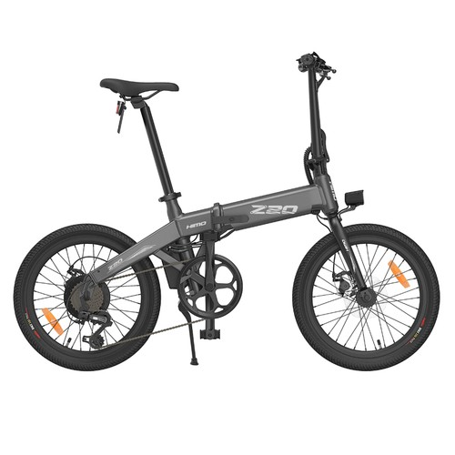 Xiaomi Himo Z20 Folding Electric Bicycle - Grey (Sepeda Lipat Elektrik)
