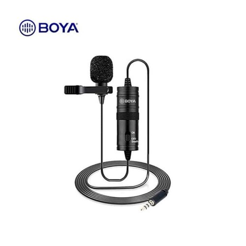 BOYA BY-M1 Lavalier 3.5mm Microphone Clip-On Condenser Mic