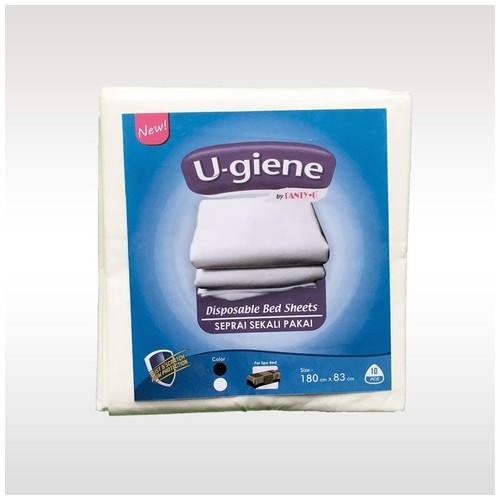 Seprai Sekali Pakai/Disposable Bed Sheets/Seprai/Ugiene/10Pcs