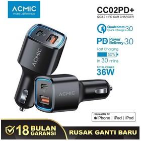 ACMIC CC02PD+ Car Charger P