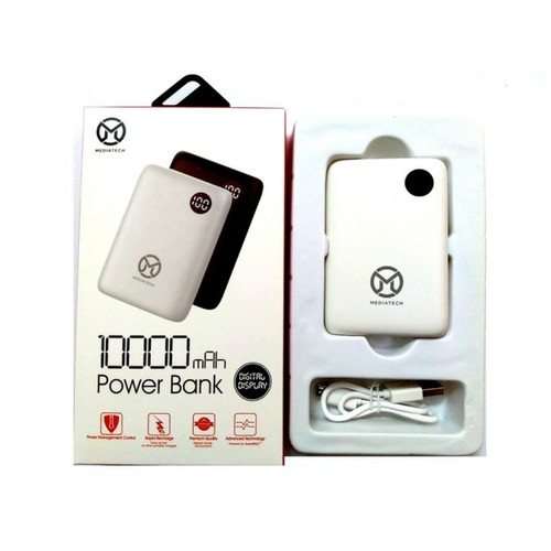 Powerbank Mini Box Mediatech With Digital Display PW 501 - 10000 mAh