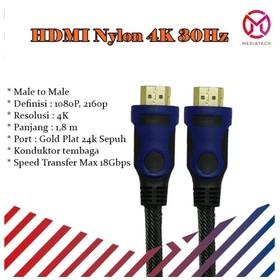 Kabel HDMI Nylon 4K 30Hz -