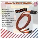 Kabel iPhone To Hdtv / Hdmi