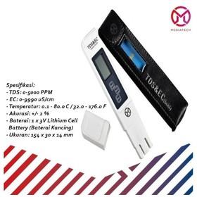 Mediatech TDS & EC Meter Al
