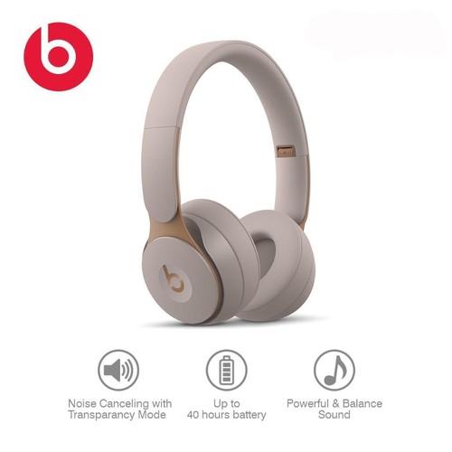 Beats Solo Pro Wireless Noise Cancelling On-Ear Headphones - Gray
