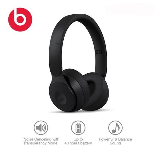 Beats Solo Pro Wireless Noise Cancelling On-Ear Headphones - Black