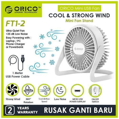 ORICO FT1-2 USB Mini Desk Fan