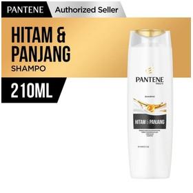 Pantene Shampoo Long Black