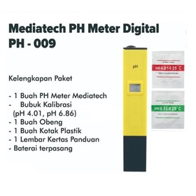 Mediatech Digital PH Meter