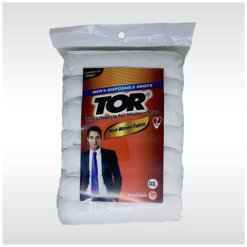 Tor Disposable Men Celana Dalam Pria [XXXL]