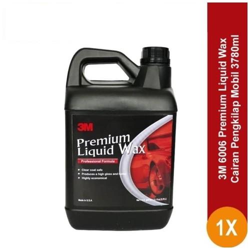 3M 6006 Premium Liquid Wax (gallon) - Cairan Semir, Polish/Poles Mobil