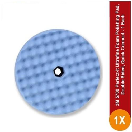 3M 5708 Perfect-It Ultrafine Foam Polishing Pad, Double Sided