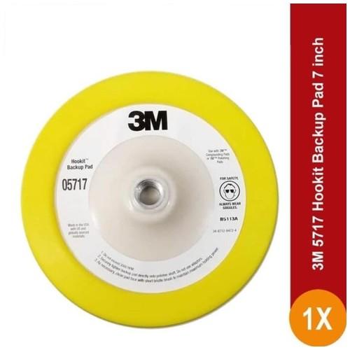 3M 5717 Hookit Backup Pad 7 in - diperlukan u/ meletakkan foam kompon