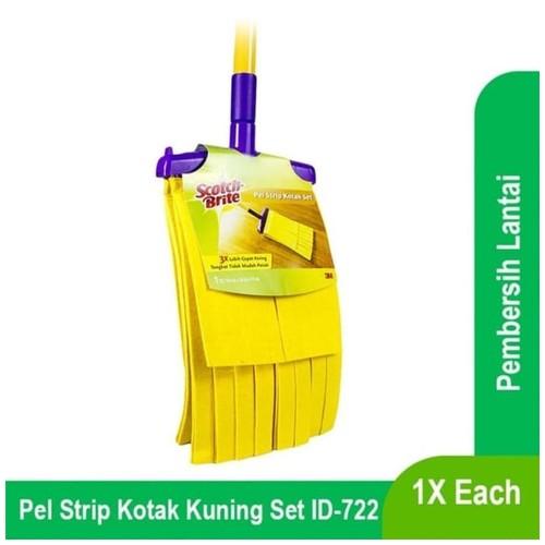 Pel Strip Kuning Kotak Scotch Brite ID-722