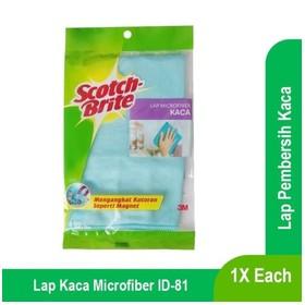 Lap Kaca bahan Microfiber S