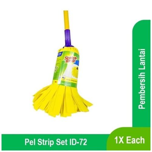 Pel Strip Kuning Bulat Scotch Brite ID-72