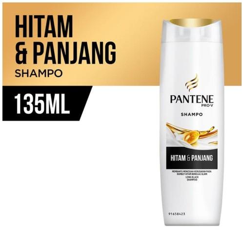 Pantene Shampoo Long Black 135ml