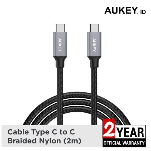Aukey USB 3.1 USB-C to USB-C Cable 2 meters - 500342