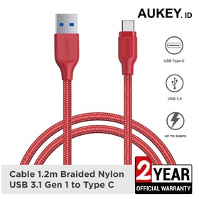 Kabel Charger Type C Aukey