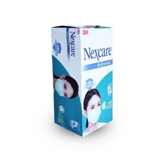 3M Nexcare Masker Earloop 3 Ply Daily Mask - 1 Box [36 Masker]