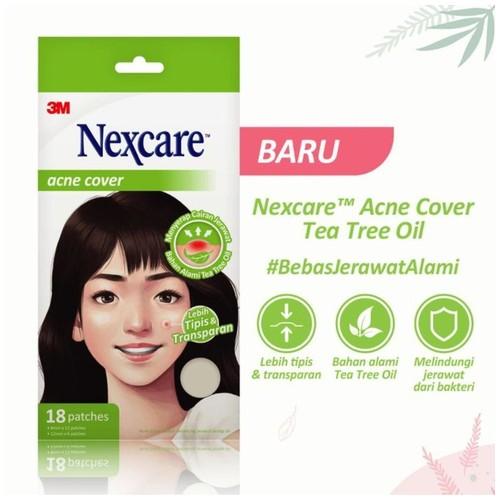 Acne Patch / Plester Jerawat Tea Tree Oil Nexcare