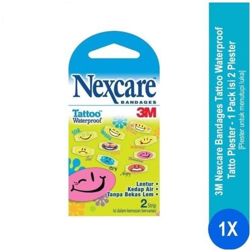 Nexcare Waterproof Bandage Tattoo BW-20 - 1 Pack