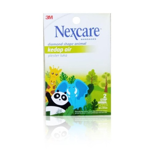Plester Waterproof Animal Print Nexcare BW-21 - 1 Pack