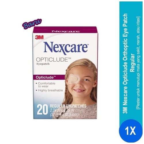 Opticlude Orthoptic Eye Patch Regular Nexcare 1539