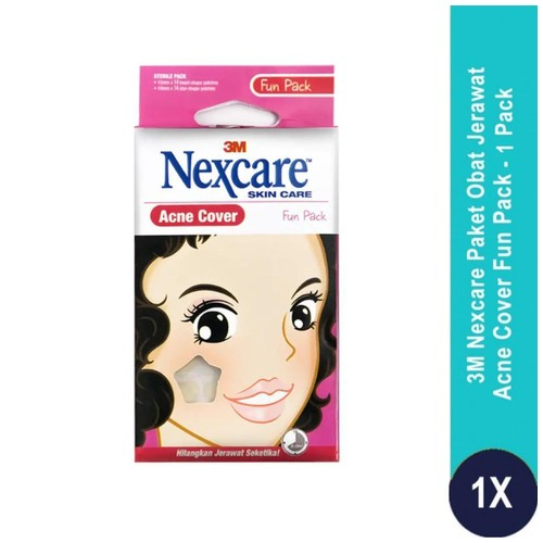 Acne Patch / Plester Jerawat Fun Pack isi 1 Nexcare