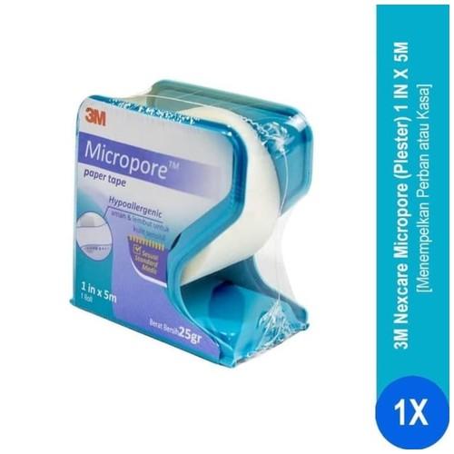 Plester Micropore 1 in x 5M Nexcare