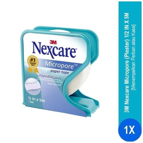 Plester Micropore 1/2 in x 5M Nexcare